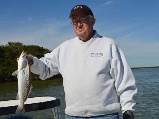 Nice Avg Estero Bay Spec Trout Caught Fishing With What A Hawg Charters