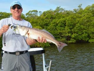 Big Redfish From Estero Bay Fort Myers