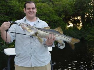 Nice Snook Caught Fly Fishing In Fort Myers