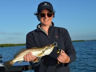 Average Estero Bay Fall Spec Trout