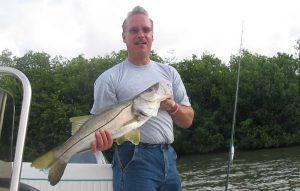 Fort Myers Light Tackle Fishing Charters - Photo Nice Snook