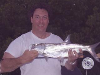 First Tarpon Caught Fly Fishing In Fort Myers