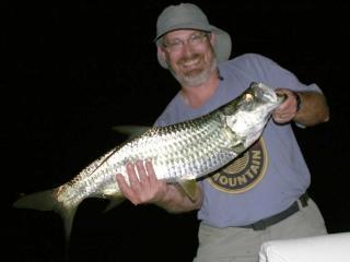 Night fishing in Ft Myers for Tarpon