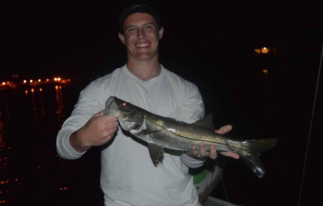 Snook Night Fishing In Fort Myers