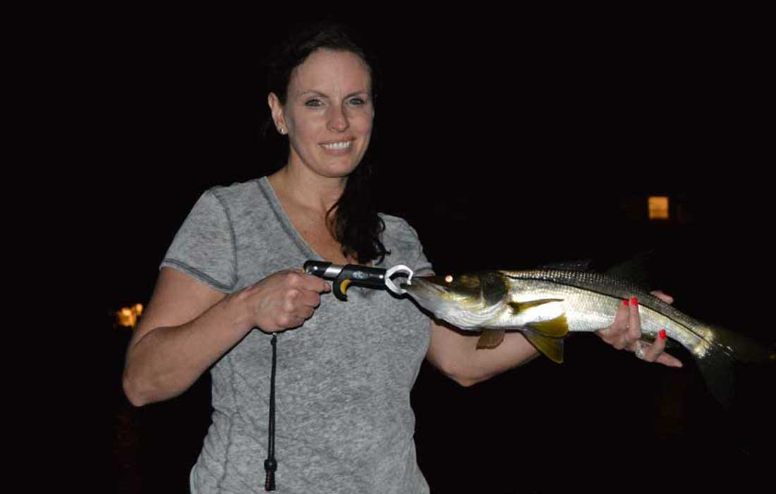 Night Fishing For Snook In Fort Myers area
