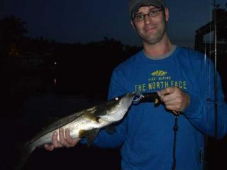 Night Fishing For Snook In Fort Myers