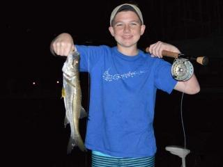 Night Fly Fishing charters For Snook In Fort Myers