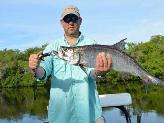 First Ever Tarpon On A Fly Rod Caught In Fort Myers