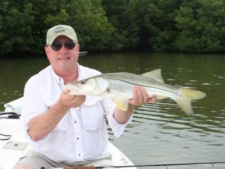 Fly Fishing For Snook In Fort Myers With What A Hawg Charters