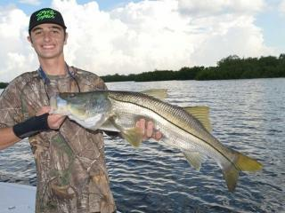 Giant Fort Myers Snook Caught In July