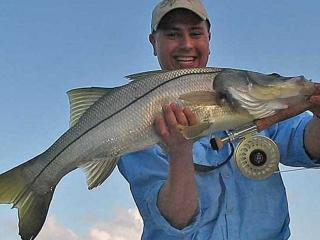 Huge Snook Caught On A Fly In Fort Myers With Capt Eric Anderson