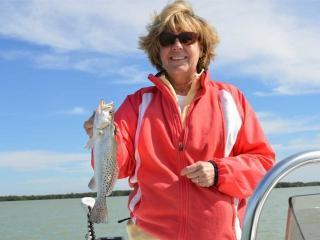 Nice First Spec Sea Trout Caught In Estero Bay Fort Myers