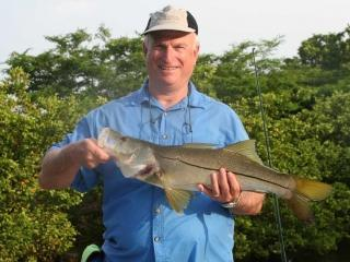 Early Morning Snook On Light Tackle