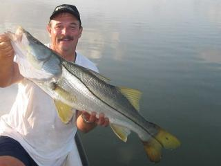 Giant Snook Caught While Fishing With Fort Myers Fishing Guide Capt Eric Anderson